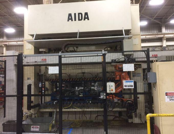 """440 ton AIDA 143.7"""" x 70.9"""""""