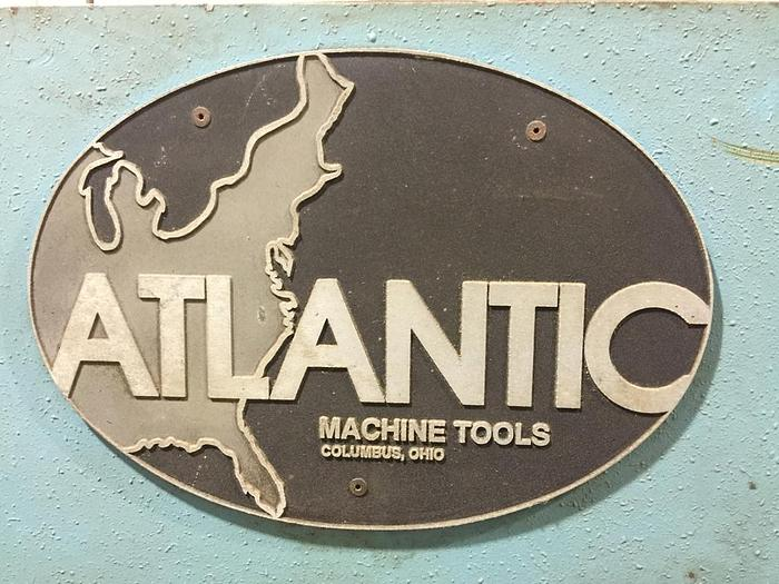 "Used ATLANTIC 10' X 1/4"" COST CUTTER HYDRAULIC POWER SQUARING SHEAR"