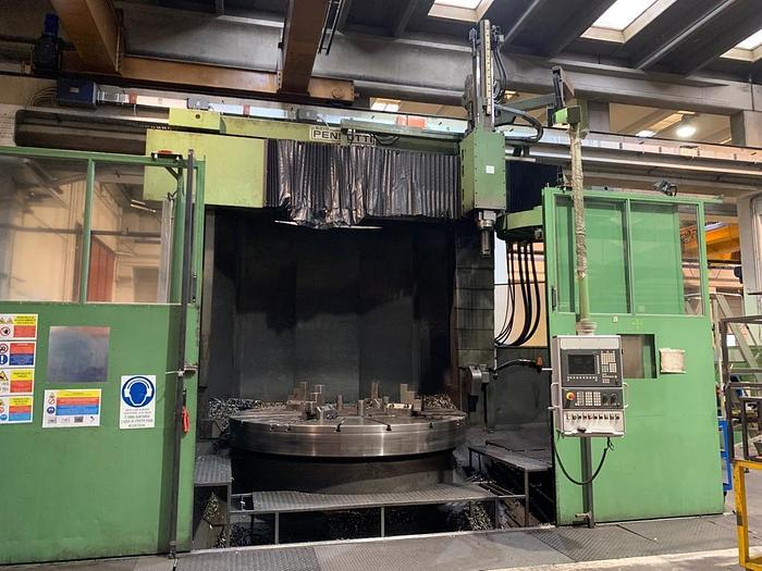 TORNIO VERTICALE PENSOTTI TTP 2500-3500 CNC