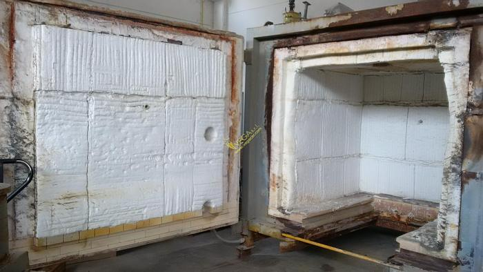 Used GAS TURBO KILN SAFF FOR HIGH TEMPERATURE - 1300 ° C