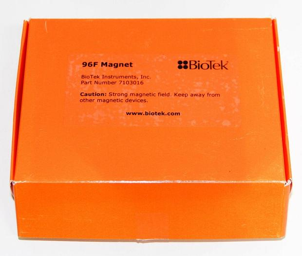 Used BioTek 96F Magnet 7103016 96-Well Flat Magnet (6035) c