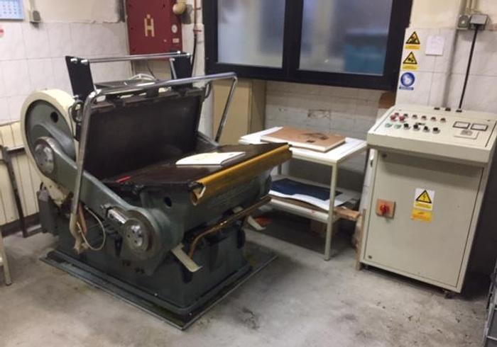 Used Rabolini Imperia die cutting machine