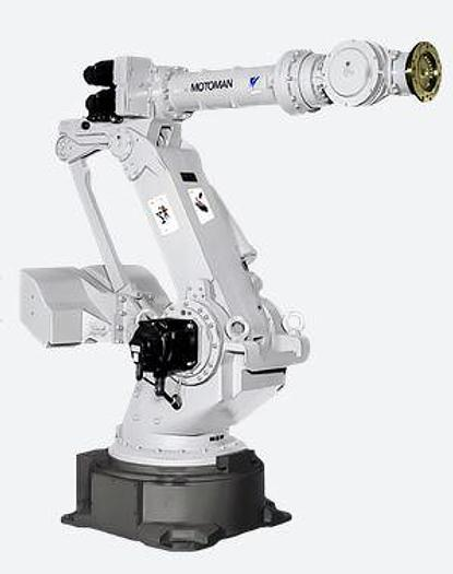 Used MOTOMAN UP350N 6 AXIS CNC ROBOT WITH NX100 CONTROL