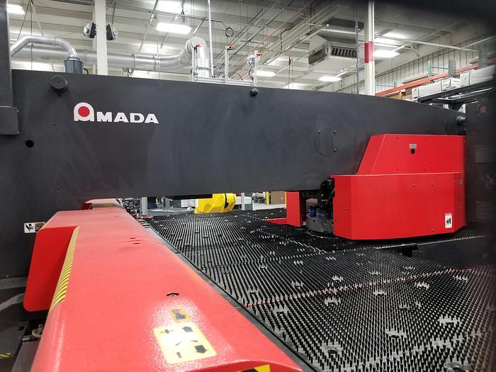 2014 22 Ton Amada AE2510NT CNC Turret Punch