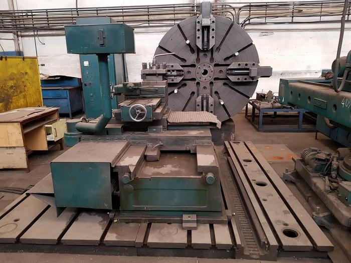 Facing lathe NILES WMW DP2/2  2000mm dia. yom 1981