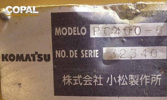 2000 Komatsu PC400
