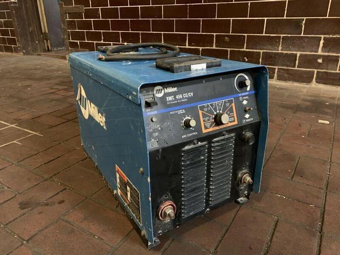 Used Miller XMT 456 CC/CV DC Inverter Arc Welder 230/460V *Tested*