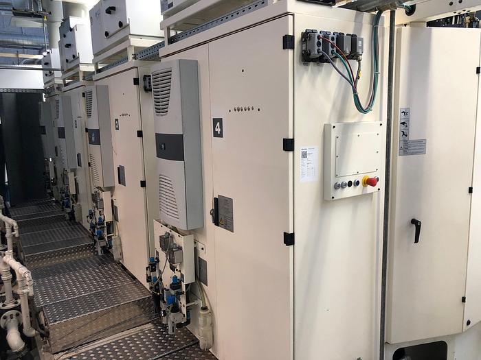 2005 5 Achsen CNC Bearbeitungszentrum CHIRON FZ15K S FLEXLINE