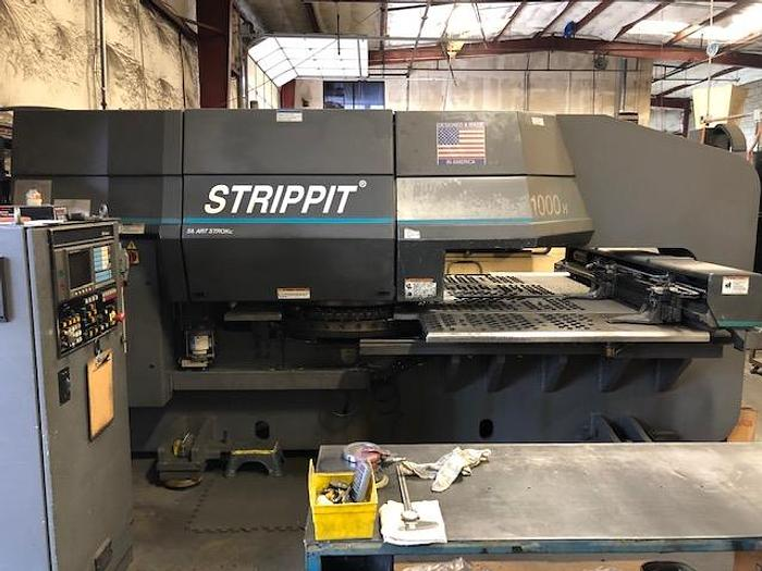 Used 1996 33 Ton Strippit 1000H/30 CNC Turret Punch