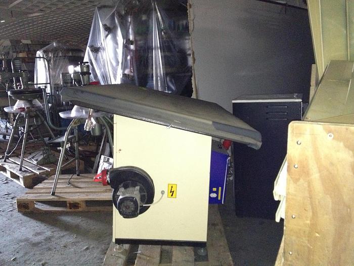 Dämpftisch  UNITED  Press ST-2 . 220 x 100 cm