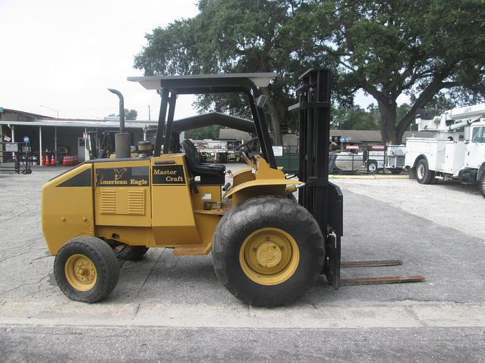 Used 2004 Master Craft American Eagle Rough Terrain Forklift