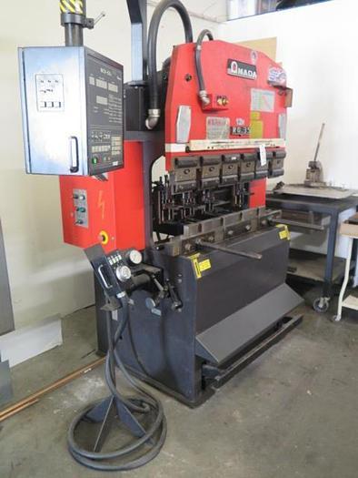 "Used Amada RG-35 35 Ton x 48"" CNC Press Brake  Amada NC9-EX II #5708"
