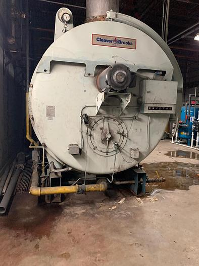 Used 1992 Cleaver Brooks 800 HP 150 PSI Steam Boiler CB 700-800-150