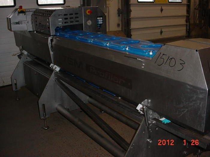 Used Marel TSM slicer new Jan 2008, Md# TSM