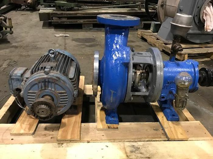 Used GOULDS 3 X 4 - 8  S/S  CENTRIFUGAL PUMP