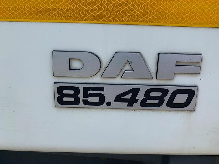 2006 DAF CF 85.480 6x4 euro 3 manual