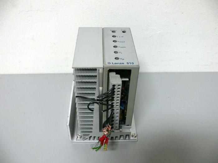 Used Lenze 510  515 E S0 220V-in 160V-out mounted on Heatsink