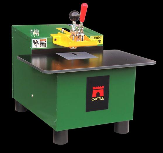 Used Castle TSM-12 Benchtop Pocket Cutter Machine