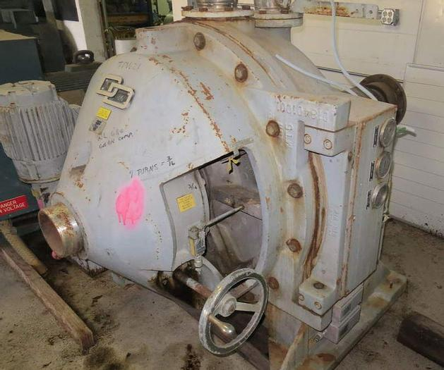 "Used 34"" (864MM) BELOIT DD 4000 SERIES REFINER MDL 4334S"