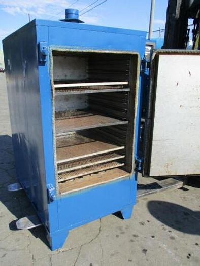 GRIEVE 2 FOOT BY 2 FOOT BY 3 FOOT CAPACITY 500 DEGREE ELECTRIC BATCH OVEN
