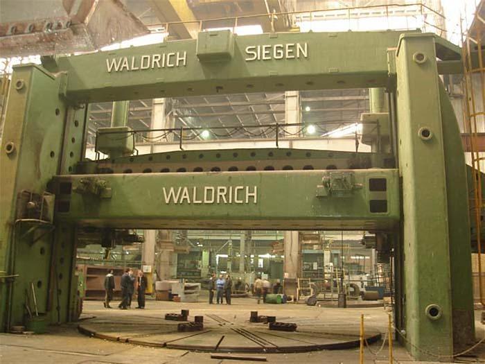 Used 1960 Waldrich Siegen 8500 mm