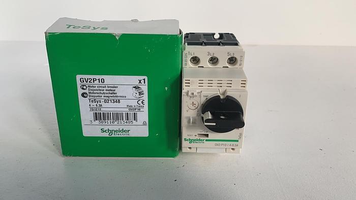 Used Schneider GV2P10 4-6,3