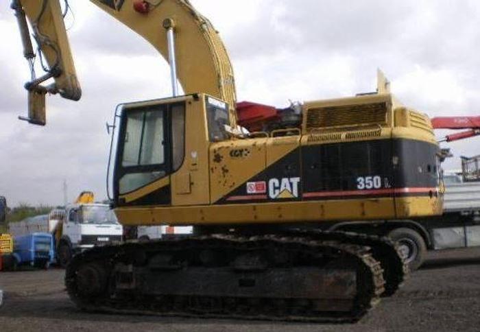 Usata Escavatore cingolato, CATERPILLAR 350 L - ANTIDEFLAGRANTE