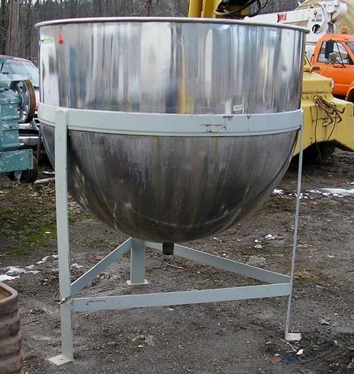 500 Gal Cap. Stainless Steel Kettle
