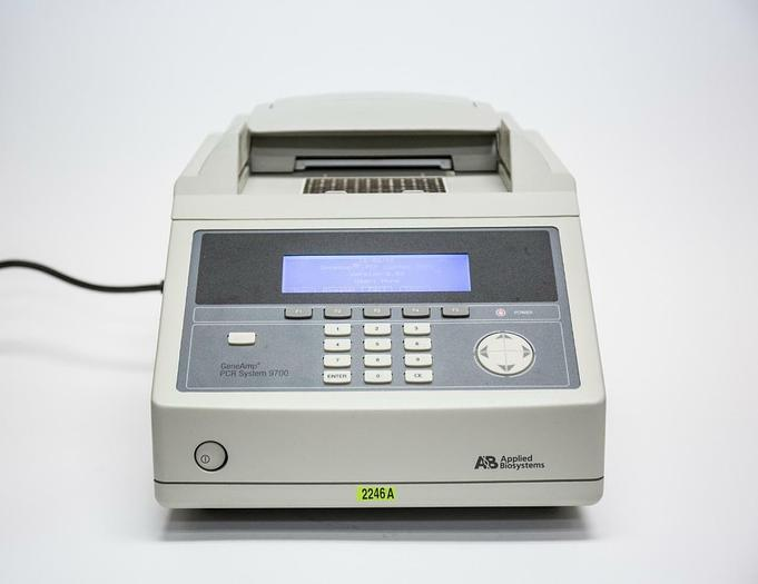 Used Applied Biosystems GeneAmp PCR System 9700 Thermo Cycler USED (2246A)