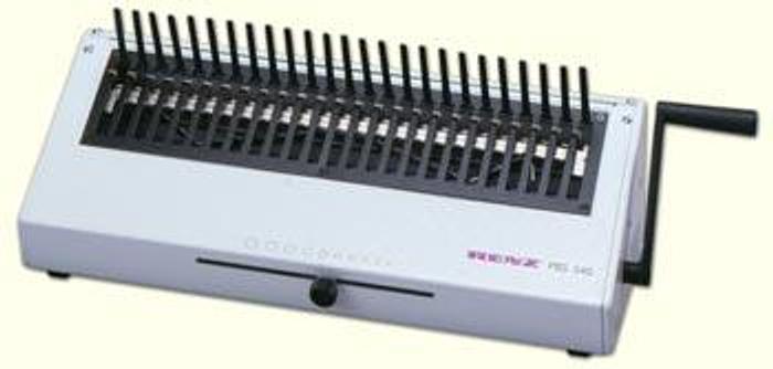 Used Renz PBS 340 Manual Plastic Comb Closer