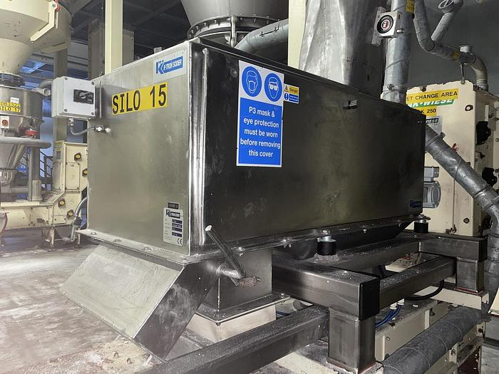 Used K-TRON W 300 I Weigh Belt Feeder