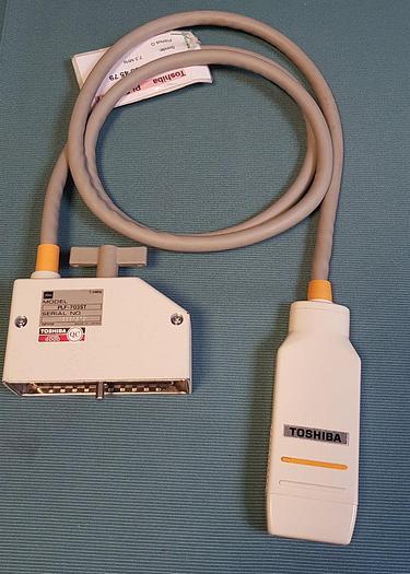 Gebraucht Toshiba PLF-703ST Linear Sonde