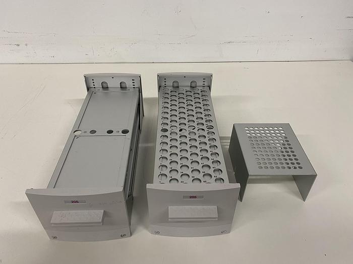 Used Lot of 2 Gilson 215 Liquid Handler Trays