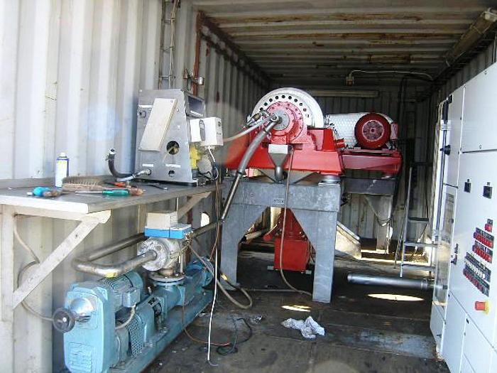 Used GEA HYSEP decanter, type MD 53C with Viscotherm Rotodiff