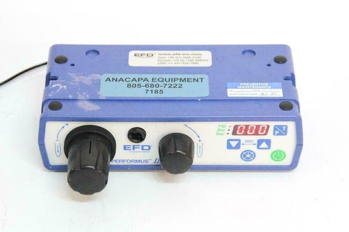 Used Nordson EFD 7012332 Performus III Fluid Dispenser w/ Power Supply USED (7185) R