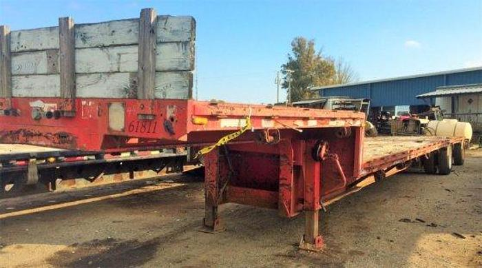 Used 1987 FONTAINE TRAILER