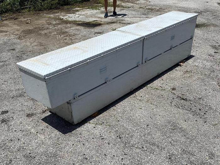 Used Tool Boxes (3) 108 Long Aluminum - Box5