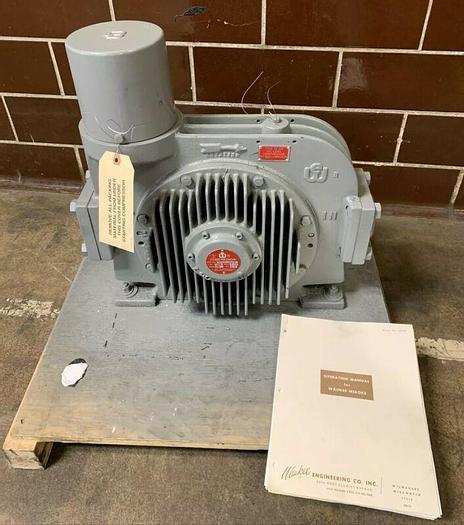 Waukee Compressor Rotary Vane Compressor Mixor 2800CFH 700RPM 1.5HP *New*