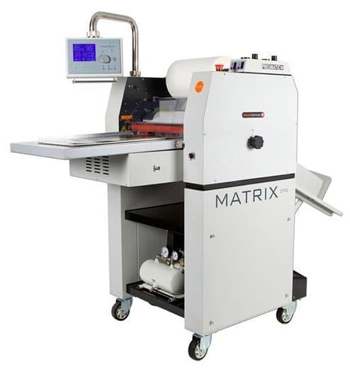 Matrix MX-370P Pneumatic Roll-fed Single-sided Laminator with NEW Foiling Feature