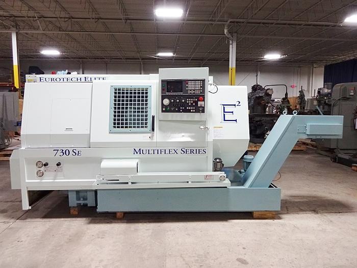 Used Eurotech Elite Multiflex Series 730SE CNC Turning Center
