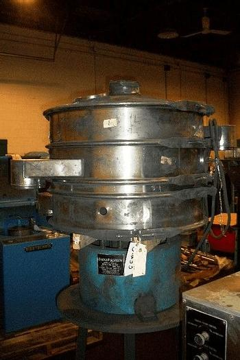 Used 30″ SWECO TYPE SCREENER – 2 DECK – S/S – TOP COVER – #8416
