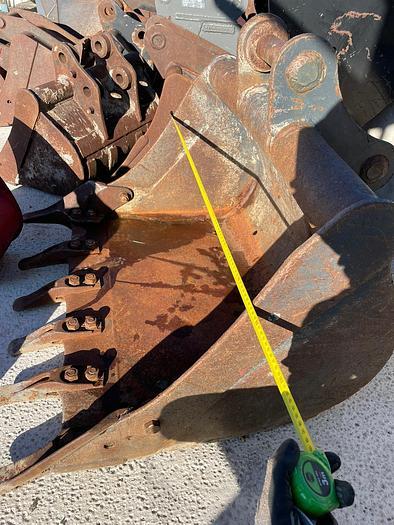 Gebraucht Tieflöffel 90 cm Arbeitsbreite
