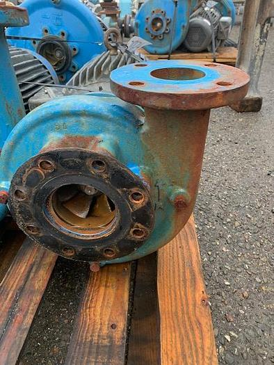 Goulds 4'' x 3'' Mild Steel Centrifugal Pump