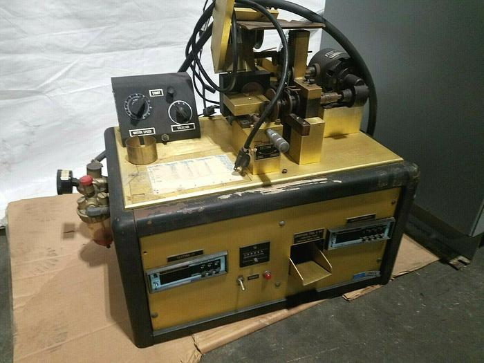 Used Crafford Automatic Chain Cutting Machine cuts jewelry chain to exact lengths
