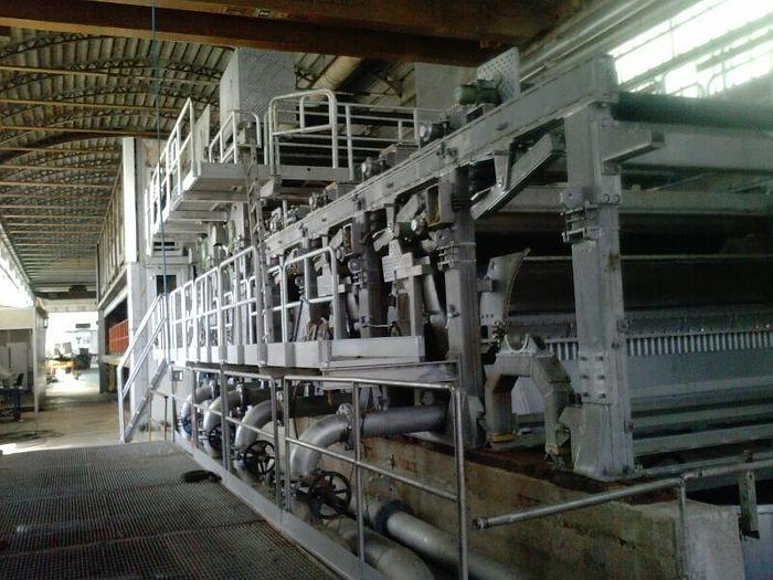 "Used 104"" (2.64M) CYLINDER MOULD PAPER MACHINE TOSCOTEC  2002"