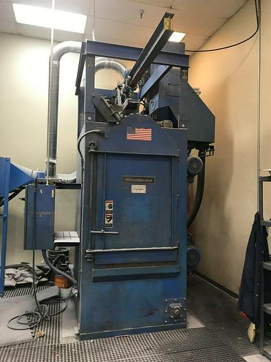 Wheelabrator WS-210 Spinner Hanger Shot Blast Machine