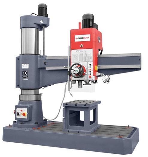 Cormak RD1600 x 50 Radial Arm Drill