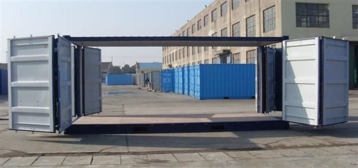"""20 'Container 8'6 """"All Sides Open"""
