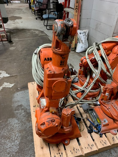 ABB IRB 140 6 AXIS CNC ROBOT WITH S4C CONTROLLER