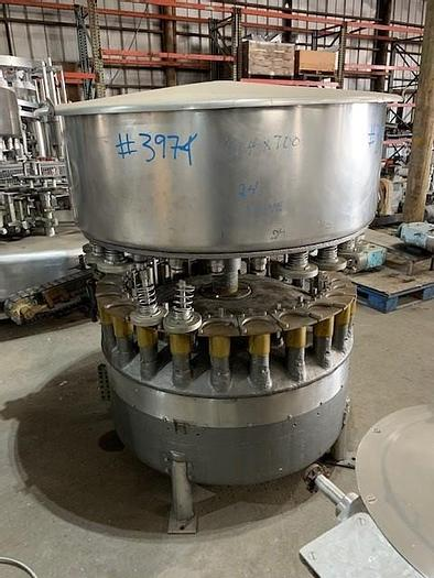 Used FMC 24 - Valve Rotary Gravity Juice Filler 240